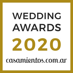 Ganador Wedding Awards 2020 Casamientos.com.ar