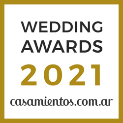 Ganador Wedding Awards 2021 Casamientos.com.ar